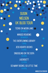 Susin Nielsen blog tour graphic