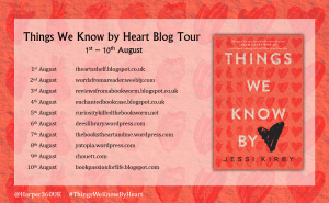 Banner Things We Know by Heart
